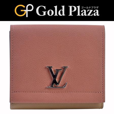 8f9d8b075d1c ルイヴィトン LOUIS VUITTON Wホック 三つ折り財布 ヴューローズ(ピンク) ポルトフォイユ ロックミー2 コンパクト M67268【】