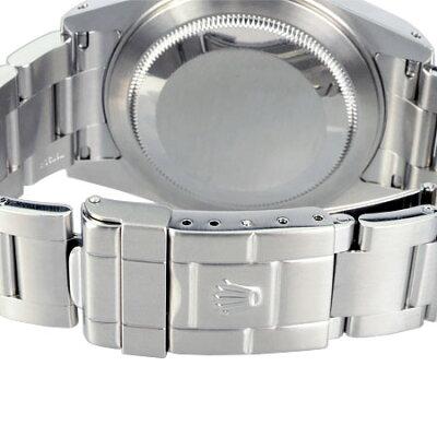 ロレックスROLEXオートマチック腕時計GMTマスター2Ref:16710Y番SSメンズ6か月動作保証付代引きでのカード払い不可【中古】