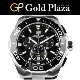 タグホイヤー TAG Heuer '18年8月販売品 アクアレーサー クロノグラフ クオーツ式 腕時計 CAY111A.BA0927 300M メンズ 43mm【中古】