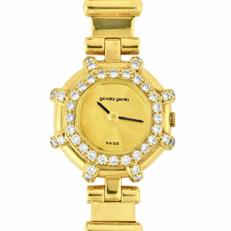 腕時計, レディース腕時計 3000OffP3 615618 GERALD GENTA K18YG 2710 111 MYN