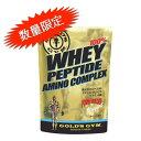 GOLD'S GYM(ゴールドジム)ホエイペプチドアミノコンプレックス 1,200g プロテインサプリメント プロテイン 健康食品 健康補助食品 たんぱく質 タンパク質 筋力 ホエイ golds gold ペプチド ホエイペプチド 徳用 大容量