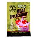 【公式サイト】GOLD'S GYM ゴールドジム ミールリプレイスメント ストロベリーミルク風味 F8620   プロテインサプリメント プロテイン 健康食品 健康補助食品 たんぱく質 タンパク質 筋力 ストロベリー ホエイ カゼイン MRP