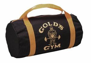 <復刻版>ワークアウトに必要な荷物をコンパクトに収納【トレーニング用バッグ】GOLD'S GYM(ゴールドジム)レトロバッグ ブラック