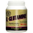 【公式サイト】GOLD'S GYM ゴールドジム グルタミンパウダー500g   コンディショニング アミノ酸 サプリメント 免疫力 疲労回復 トレーニング グルタミン