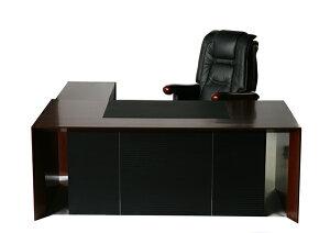 送料無料■新品■ウォールナットプレジデントデスク  オフィスデスク エグゼクティブデスク 両袖デスク CEOチェア プレジデントチェア エグゼクティブチェア 本革 デスクマット ■