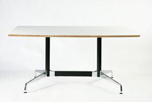 ■送料無料■新品■イームズセグメンテッドベーステーブルイームズテーブルアルミナムテーブル舟型W160×D100×H74cm■ホワイト