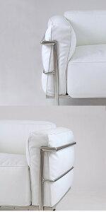 ■新品■ル・コルビジェLC31P■ホワイト■1人掛けシングルソファ本革モダン家具おしゃれソファ応接間ロビーデザイナーズ椅子リビングシングルソファーsofa1seaterlecorbusierlecorbusierコルビジェルコルビジェル・コルビュジエ白■lc333b1pwh