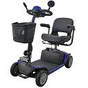 送料無料 電動シニアカート 青 電動カート シルバーカー サイドミラー 車椅子 PSE適合 TAISコード取得済 運転免許不要 電動車いす 電動車椅子 介護 福