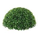 35cmボックスウッドボール(片面) グリーン 植物装飾 ディスプレイ用品