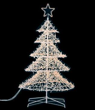 クリスマス 装飾 ツリーライト 耐水210cm2800球立体スターツリーライト(常点灯/パワーコード付き) 代引き不可商品です