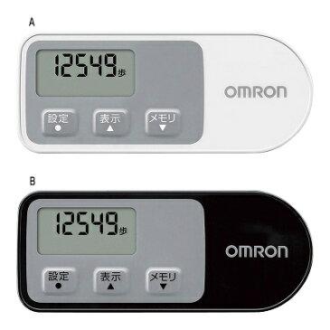 オムロン ウォーキングスタイル 歩数計 (HJ-321-W) 小さくて薄いデザインで高精度な3軸加速度センサーを搭載