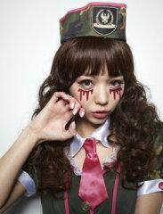 【ハロウィン メイク 顔パーツ】ハロウィン メイク フェイク涙(F) コスチュームと合わせ...