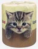 トイレットペーパー やっぱり猫が好き ねこ好きのための雑貨(トイレットロール)100個セット販売 【代引き不可商品】