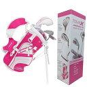 TOUR-X ピンクジュニア ゴルフセット サイズ #0 (...