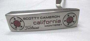 【中古】スコッティキャメロンカリフォルニア モントレーパター Titleist35インチ