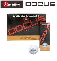 【あす楽】【2016年モデル】HARAKEN【ハラケン】DOCUS【ドゥーカス】ゴルフボールDCB-TOURボールセット4スリーブ12コ入】532P19Apr16
