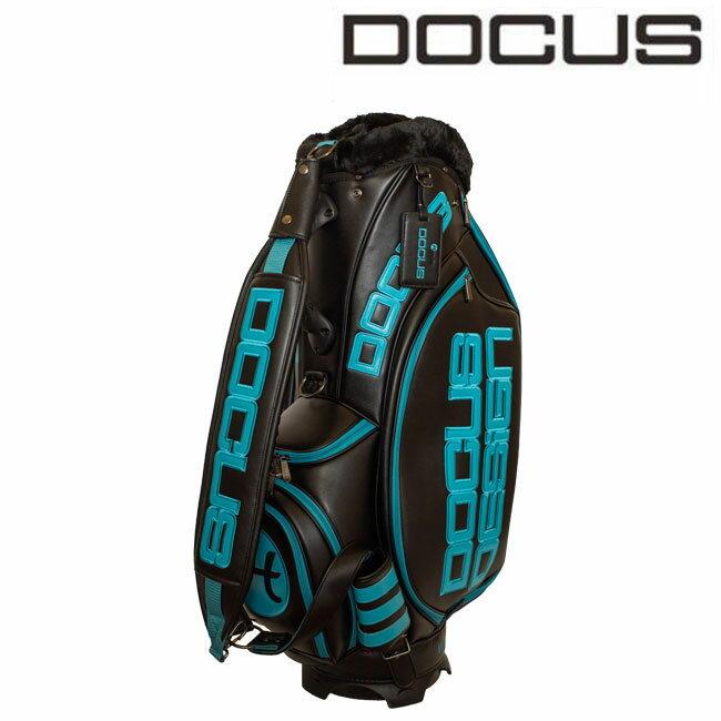 DOCUS 10インチキャディバッグ ブラックターコイズ