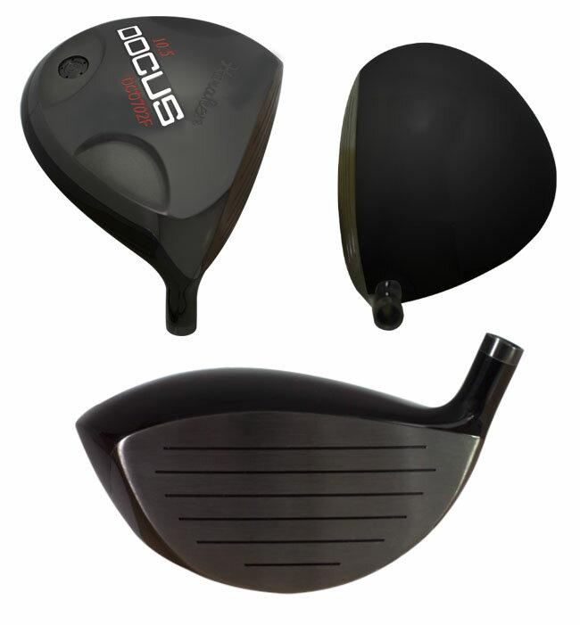 ドゥーカス DOCUS メンズゴルフクラブ DCD702F Black ドライバー Slugger2 シャフト