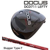 【2017年モデル】DOCUS【ドゥーカス】DCD711LEFTYメンズドライバーDOCUSSluggerTypeT装着モデル