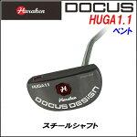 【ポイント10倍】ドゥーカスDOCUSメンズゴルフクラブマレットパターHUGA1.1ヒューガベントスチールシャフト