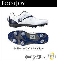 【2016年モデル】FOOTJOY【フットジョイ】EXLBoaシューズ45144ホワイトネイビー