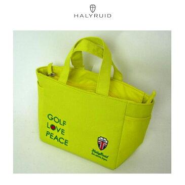 ハリールイド HALYRUID メンズ ゴルフ ミニトートバック イエロー HU36513