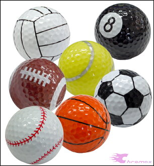 Chromax Golf is fun cool or well ♪ sports balls