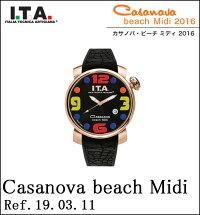 【ポイント2倍】ITA腕時計I.T.A.カサノバ・ビーチミディCollectionCasanovabeachMidiアイティーエーRef.19.03.11