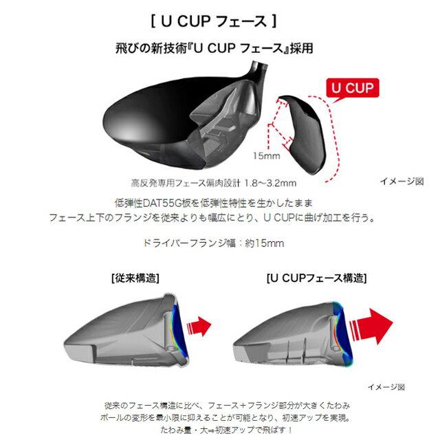 プロギア ニュースーパーエッグ (NEW SUPER egg) 480 ドライバー 高反発モデル メンズ オリジナル カーボンシャフト ゴルフクラブ ルール適合外 2019 PRGR ユナイテッドコアーズ