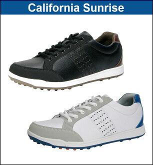 [鞋派][CSSH-3611]沒有朝陽高爾夫球-朝日高爾夫球-California Sunrise加利福尼亞日出MENS(男子)釘鞋的鞋[脚寬度:3.5E][高爾夫球鞋]