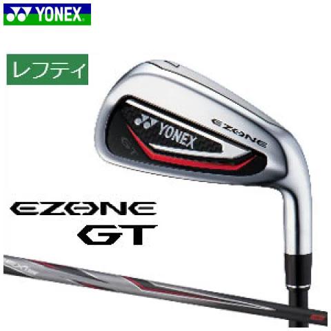 ヨネックスゴルフ YONEX GOLF メンズ ゴルフクラブ レフティ EZONE GT IRON イーゾーン GT アイアン 5本セット(#6-Pw) カーボンシャフト 左用