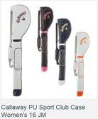 Callaway PU Sport Club Case Women's キャロウェイ PUスポーツ クラブケース ウィメンズ 16 JM 2016モデル