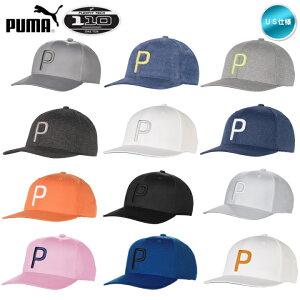 2018 PUMA プーマ P110 スナップバック キャップ 帽子 USモデル 021448 リッキー・ファウラー着用 Snapback rickie fowler 【メール便不可】【あす楽対応】