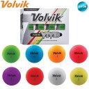 【2020年モデル】ボルビック Volvik VIVID ゴルフボール 1ダース (12球入り) US仕様【メール便不可】【あす楽対応】
