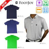【新作】フットジョイFootJoyFJ-S18-S08半袖ポロシャツゴルフウェアメンズポロシャツフットジョイポロシャツ