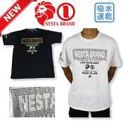 ネスタブランドNESTA182NB1027Tシャツゴルフウエアゴルフ半袖Tシャツ吸水速乾半袖メンズTシャツ