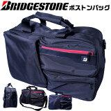 BRIDGESTONE ボストンバッグ スポーツバッグ 外側に3つのポケット付き ブリヂストン GAG521