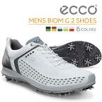 ecco シューズ ECCO MEN'S GOLF BIOM G2 Lace 抜群のグリップ力&サポートで快適なスイングを 上質な天然皮革が足に馴染む 軽量 撥...