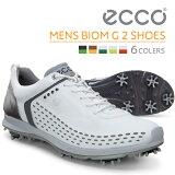 【店頭展示品】ECCO ゴルフシューズ メンズ MEN'S GOLF BIOM G2 Lace 天然皮革 軽量 撥水 15BIOM G2 16BIOM エコー