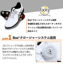アシックス asics ゴルフ シューズ GERACE TOUR2 Boa クロージャーシステム ソフトスパイク 防水 優れたグリップ力 ツアープロ使用モデル TGN913
