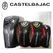 【新発売】CastelBajacカステルバジャック流れ星柄ヘッドカバー4点セット『ブラック』DR(23801-306)x1本,FW(23801-307)x2本,UT(23801-308)x1本