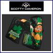 【送料無料】ScottyCameronLIMITEDPUTTERHeadCover2015St.Patrick'sDayDancingLepreChauns-BKスコッティキャメロン聖パトリック限定パターカバーヘッドカバー