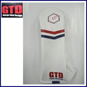 GTD【GeorgeTakeiDesign】Headcover[ドライバー用/460cc]ジーティディヘッドカバー『ホワイト』