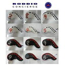 RODDIO IRON COVER 6個入りセット【#7〜9,P,Q,S】ロッディオ アイアンカバー ヘッドカバー