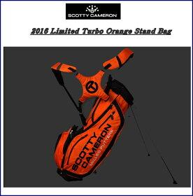 【送料無料】SCOTTYCAMERON2016LIMITEDTurboOrangeStandBagスコッティキャメロン2016限定ターボオレンジスタンドバッグ『ターボオレンジ』
