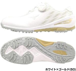 [セール品]ミズノゴルフネクスライトNEXLITE004Boaレディースゴルフシューズ51GW1720ワイズ:3E◆mizunoゴルフ用品女性靴スパイクレスレディースシューズレディースゴルフシューズブラックホワイトゴールドホワイトピンクボア