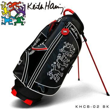 キースヘリング ゴルフ スタンド キャディバッグ Dancing Dogs KHCB-02