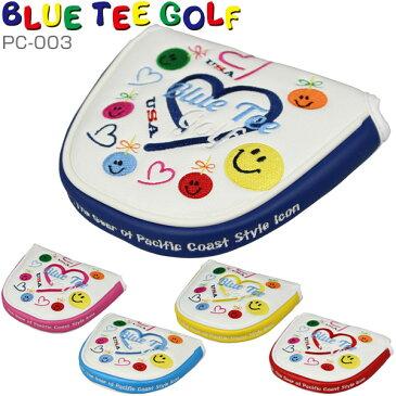 [SALE価格]ブルーティーゴルフ スマイル&ハート パターカバー マレットタイプ PC-003