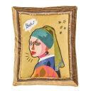 【取り寄せ・同梱注文不可】 アート クッション フェルメール 43201-02【代引き不可】【thxgd_18】