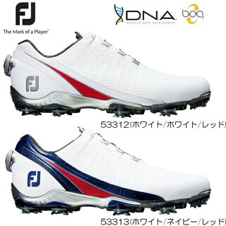 FootJoyフットジョイD.N.A.boaボアゴルフシューズ(53312/53313)2017年/NEWカラー